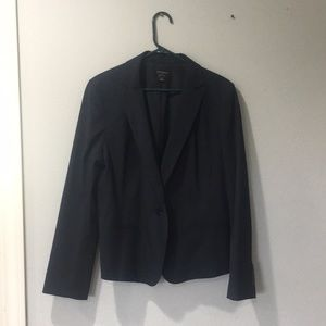 Ann Taylor Navy with Stripes Suite Jacket Size 16